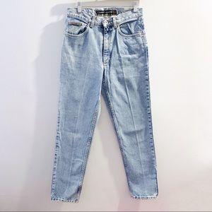 Vintage 90s DKNY Light Wash High Waisted Jeans